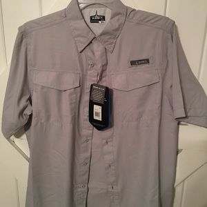 Other - Men's Gray Fishing Shirt